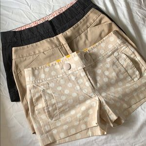 Bundle of 3 shorts size 4